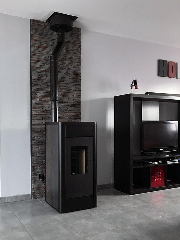 r alisation installation de po le bois granul s en loire atlantique 44. Black Bedroom Furniture Sets. Home Design Ideas